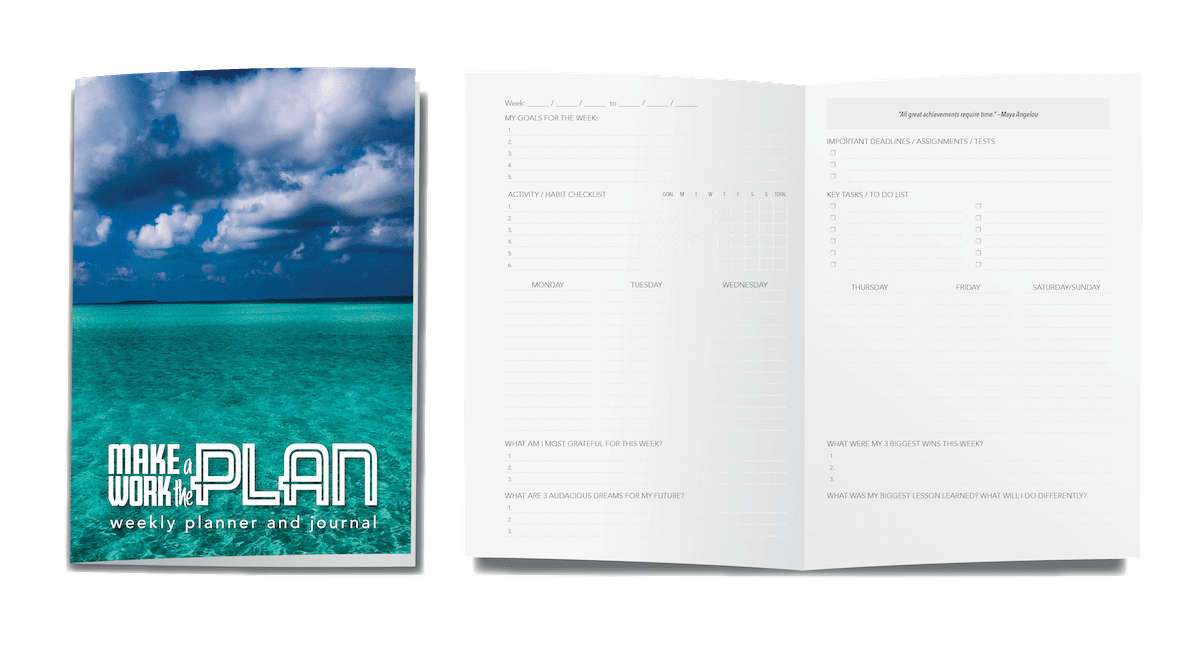 Planner and Journal by Dr. Meagan Pollock