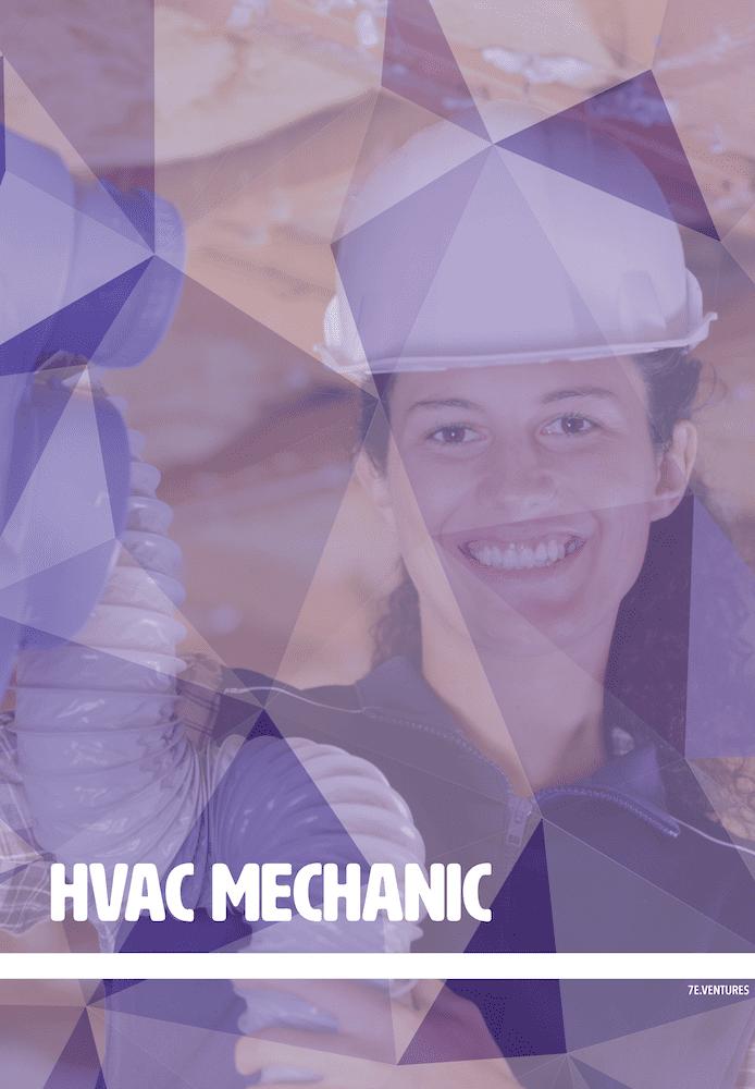 Female HVAC Mechanic