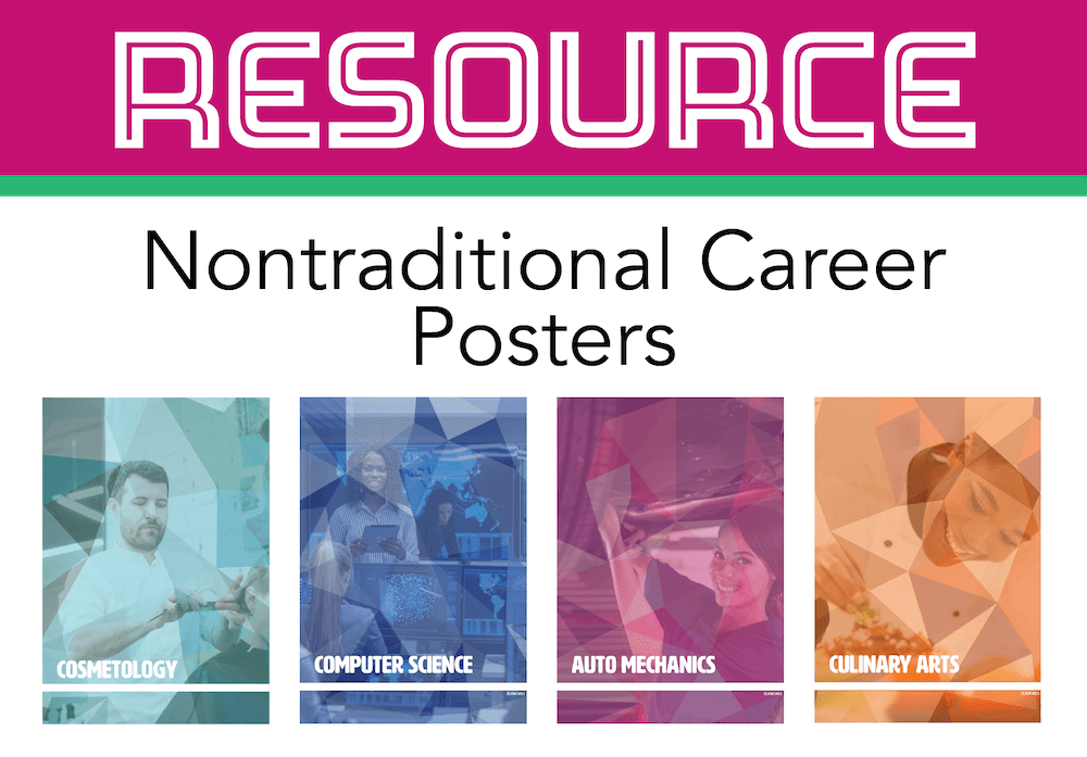 Download Nontraditional CTE Posters