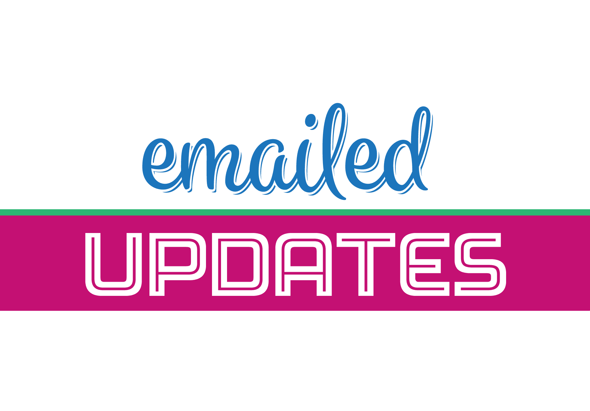 Emailed Updates