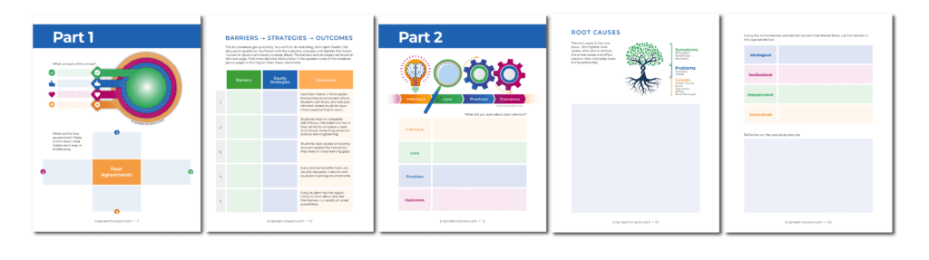 Sample Leveling the Playing Field Handouts